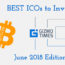 Best ICOs to invest in June 2018