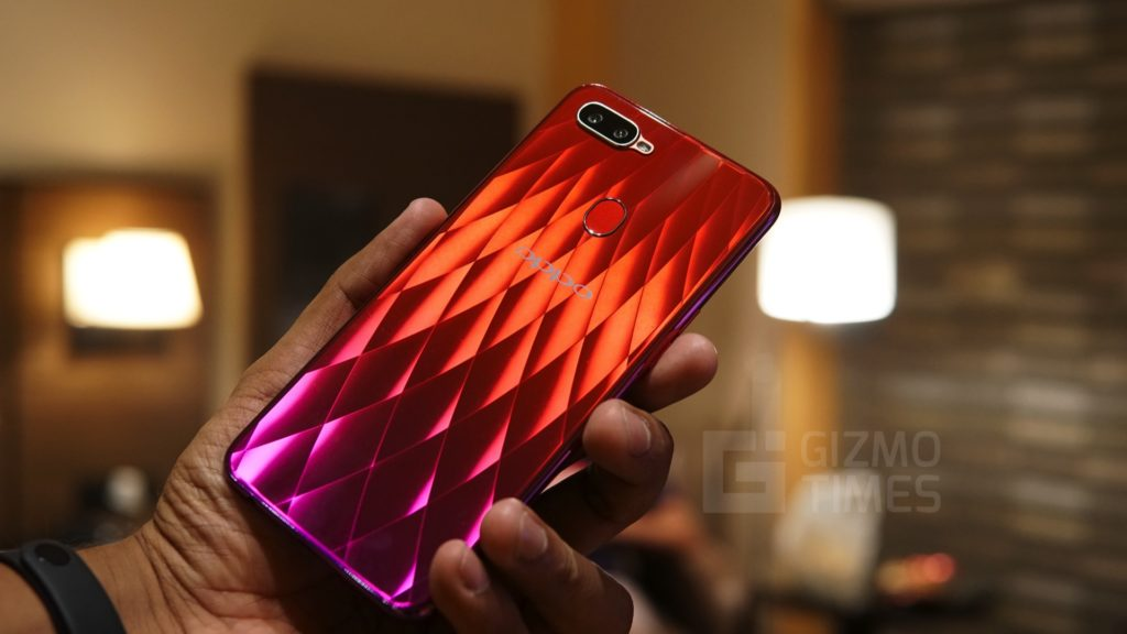 OPPO F9 Pro Red