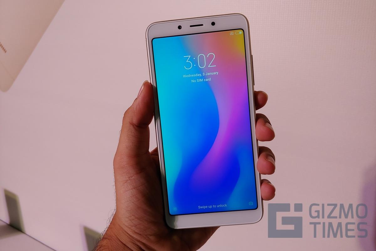 Xiaomi Redmi 6A Front