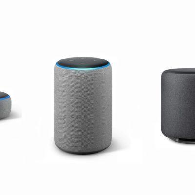 Amazon Echo Dot, Echo Plus and Echo Sub