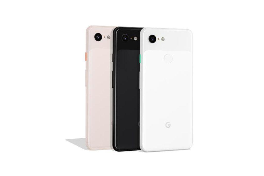 Google Pixel 3 XL colors