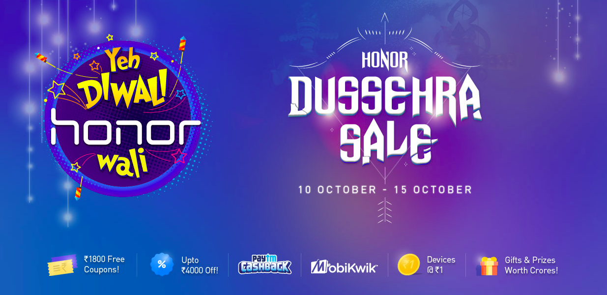 Honor Diwali Sale