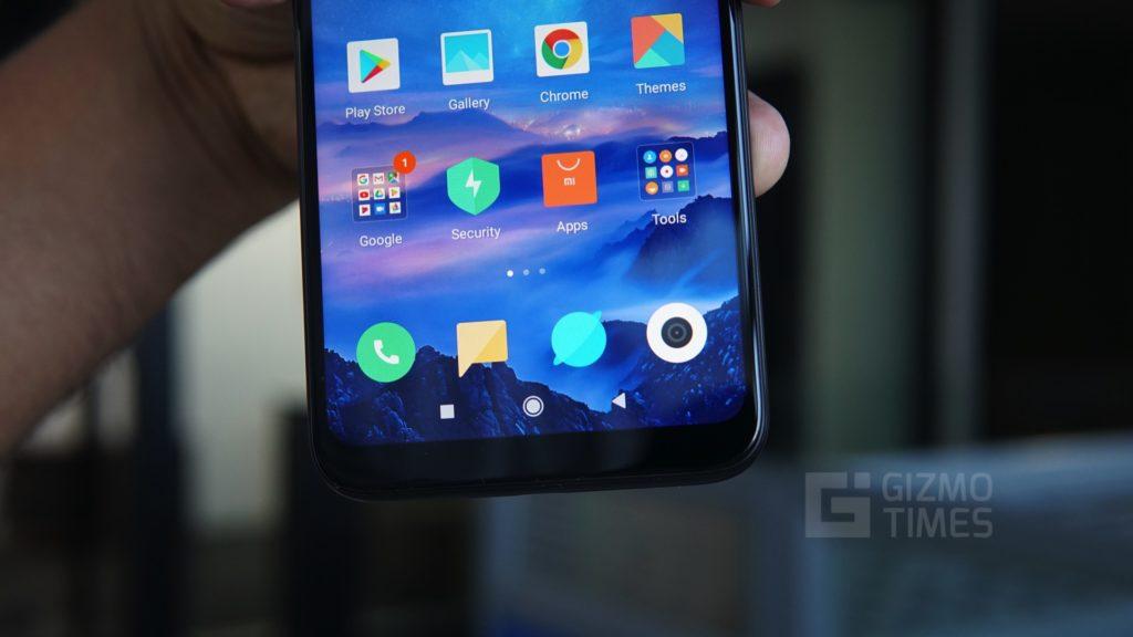 Xiaomi Redmi Y3 Front Bottom
