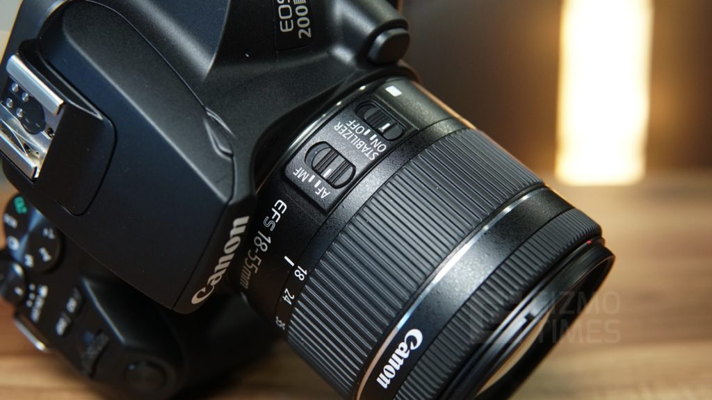 Canon EOS 200D II Lens options