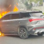 MG Hector fire