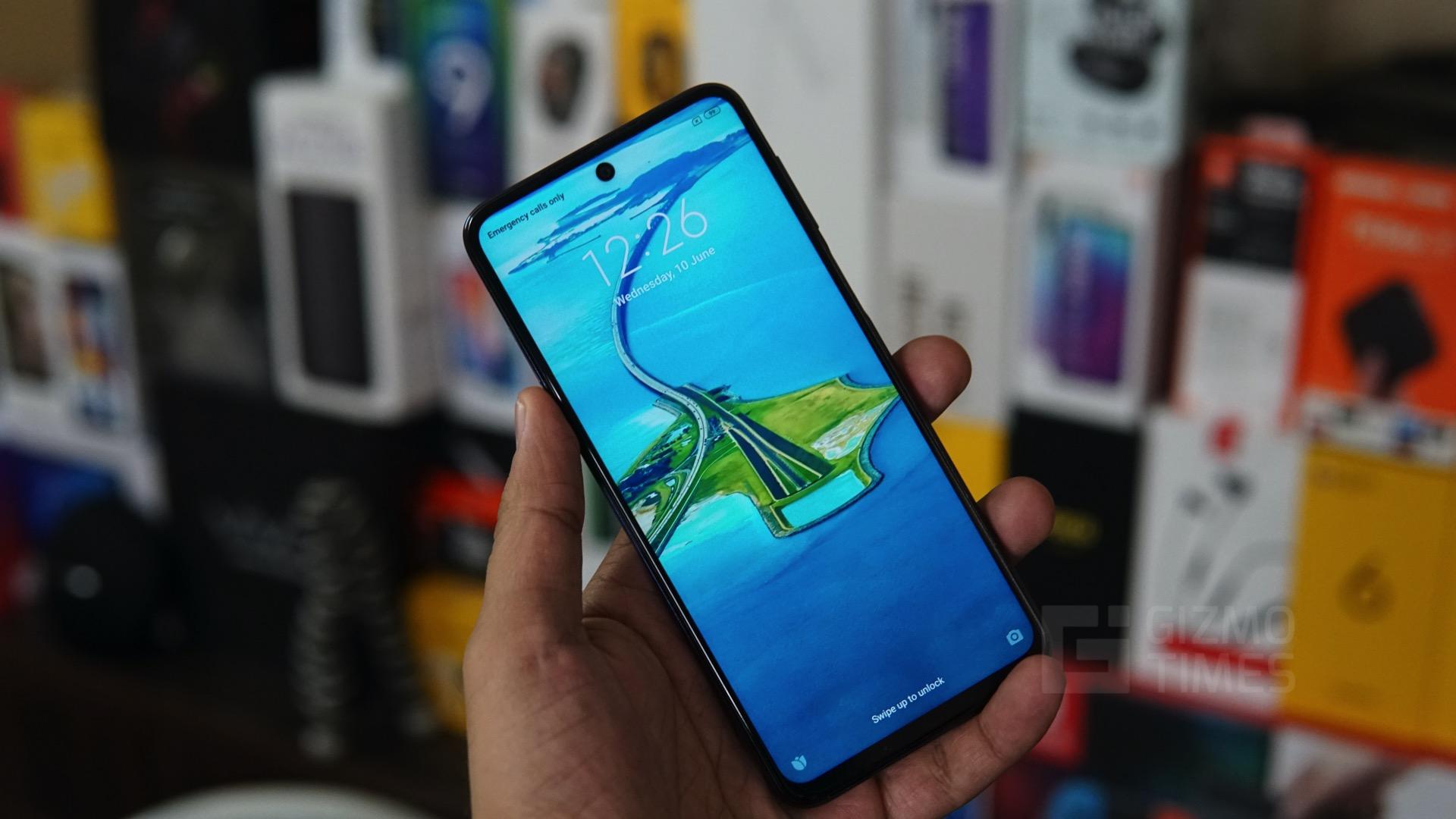 Redmi Note 9 Pro Max display