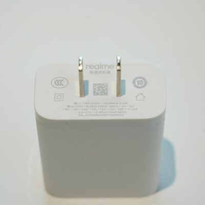 realme 125W charger
