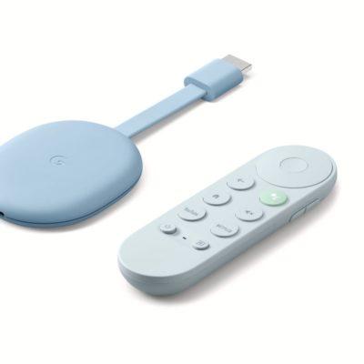 Google Chromecast with remote